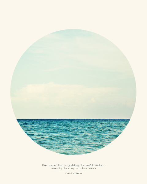thingssheloves:  (via Salt Water Cure Art Print by Tina Crespo | Society6)