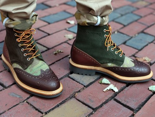 (via Fancy - Country Brogue Boot by Bodega x Mark McNairy)