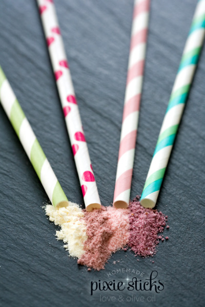 efccooking:  Homemade Pixie Sticks