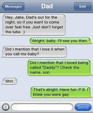 drugcake:  hahahahahaha my dad would have probably killed me:P