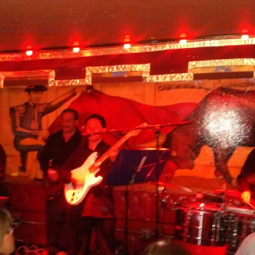 Live cumbia band at #lacita for #sundayfunday  (Taken with Instagram)