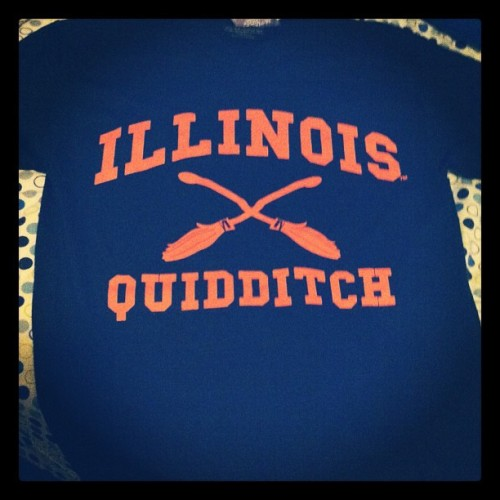 avatar-melko:  So this is a thing that exists. I am so happy. #illini #quidditch #hp (Taken with Instagram)