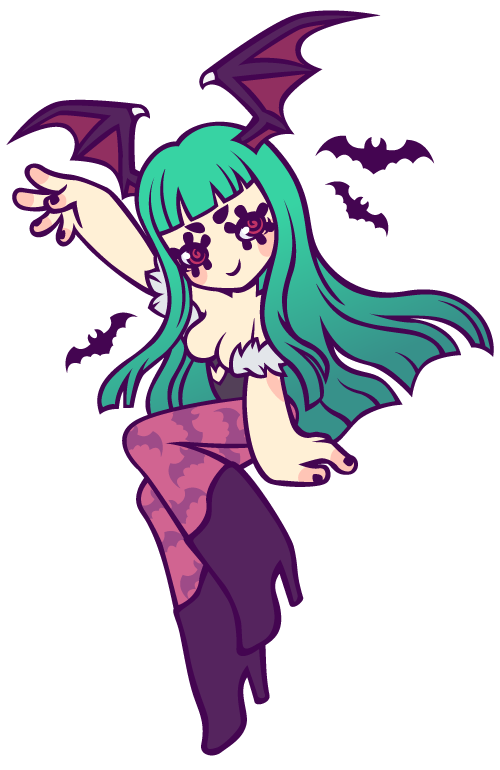 werepop:  Morrigan Aensland ♥Character (c) to Capcom