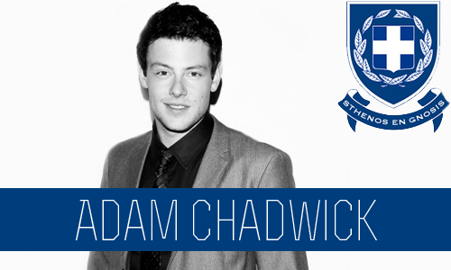 Adam Chadwick | Senior | Political Science Major |FC: Cory Monteith