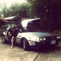 Back to the future in the #Delorean  (Taken with Instagram at nacogdoches / Texas)