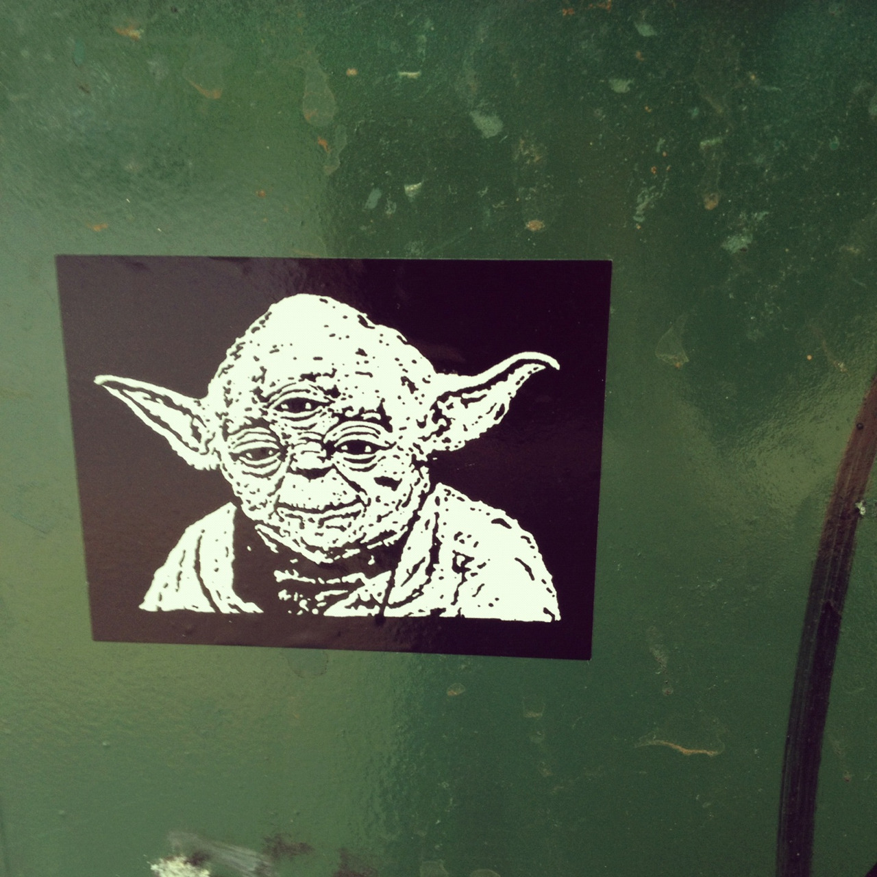 All seeing and wise, yoda is.