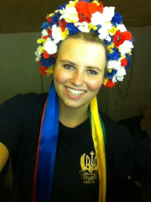 danced for Ukrainian Independence Day!