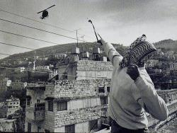 From the second Palestinian intifada, Jabal il Nar, Ras il Ain, Nablus.