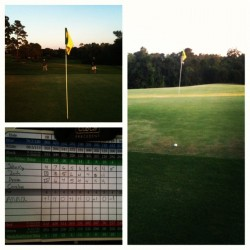 Shot a 39 and drove the green today. #happybirthdaytome #golf #stateherewecome (Taken with Instagram)