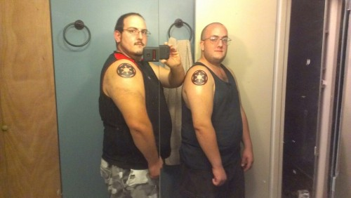 Brother tattoos, galactic empire