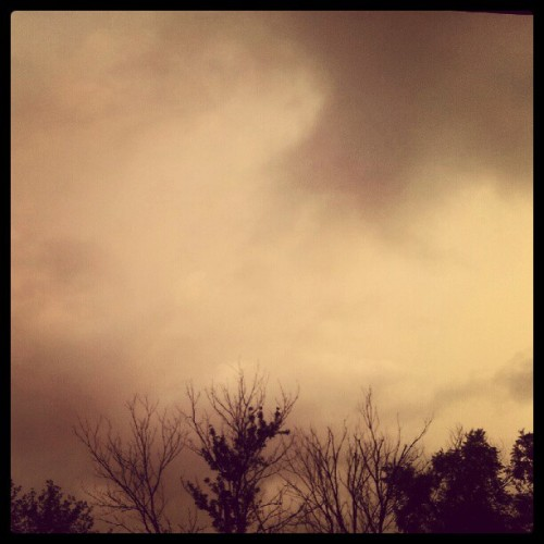 Sitting on my porch while it rains :) #storms #rain (Taken with Instagram)