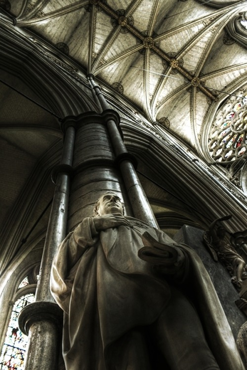 theworldwelivein:  Westminister Abbey by Will Manley