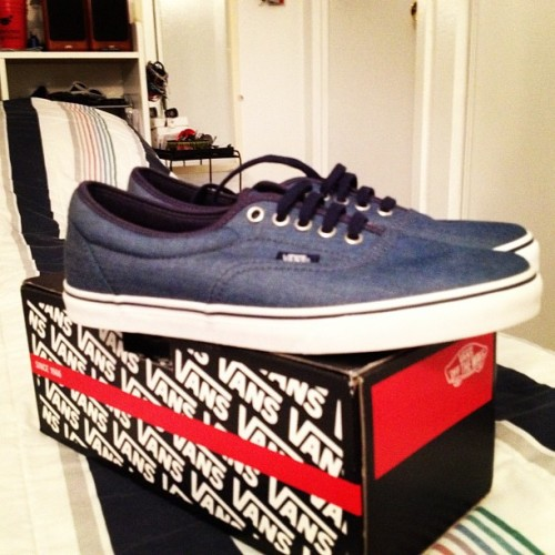 New pick up. #vans #era #otw  (Taken with Instagram)