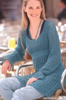 lace tunic pattern