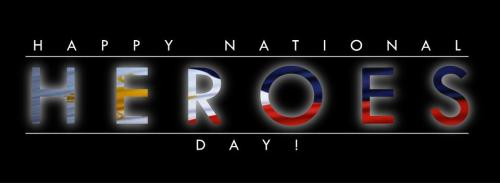 It's more fun in the Philippines Happy National Heroes Day!