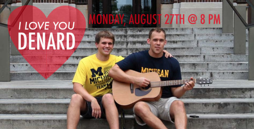 "The music video for ""I Love You Denard"" premieres tomorrow night at 8 PM."