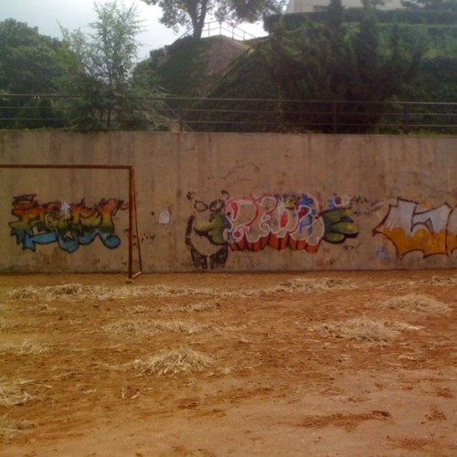 #campus #graffiti #dalian #china (Taken with Instagram)