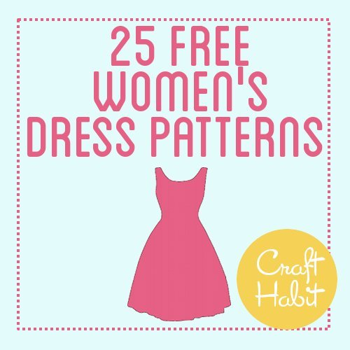 littlecraziness:  (via 25 Free Women's Dress Patterns : CraftHabit.com)