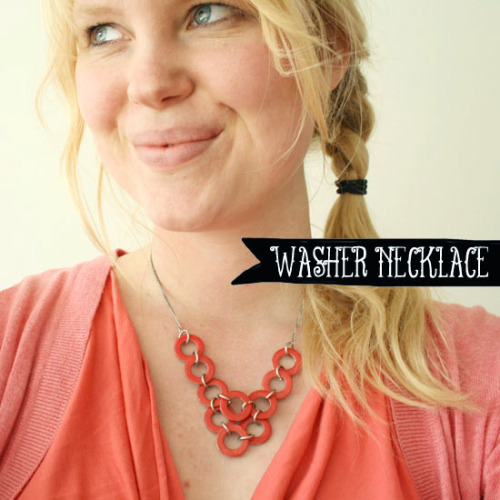 (via DIY - Washer necklace | By Wilma)