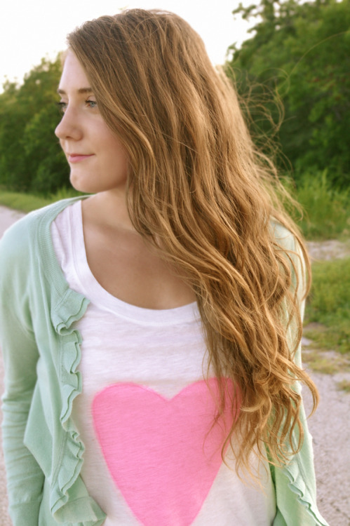 (via DIY // Graphic Heart Tee)
