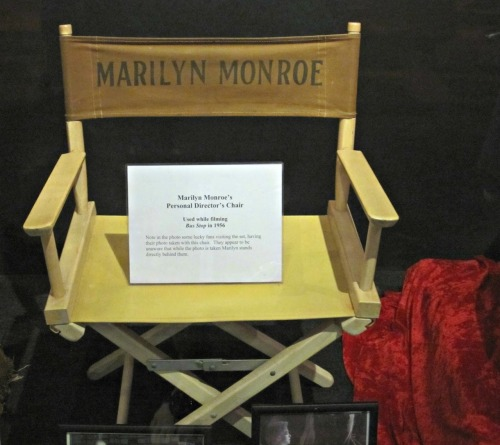 MM's Director's Chair.
