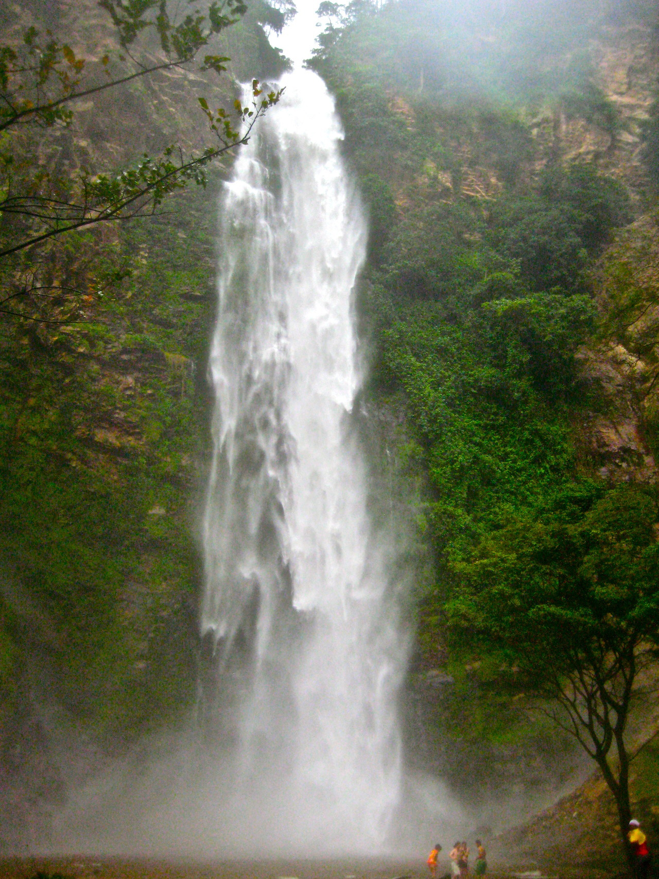 The tallest waterfall in Western Africa - recently seen on a walk through the jungle!