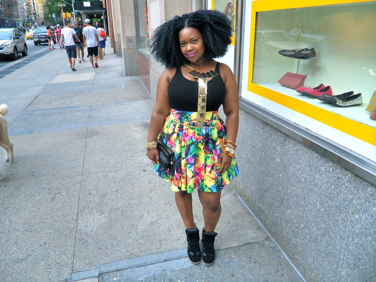 blackfashion:  Name: Keisha Location: City that never sleeps Submitted by: hi-imcurrentlyobsessed
