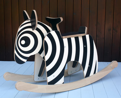 The rocking horse zebra, for when you want to hypnotize your children.