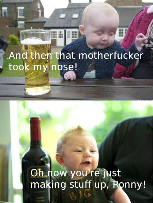 Drunk Baby Talk[via]