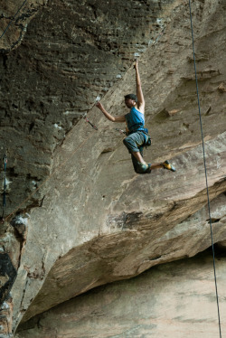"definedbypassion:  ""Paradise Lost"" - 5.13a/b (7c+/8a) @ Purgatory, PMRP, The Red River Gorge, KY© Khristian Lukianov Photography"