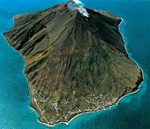 Headed to the island of Stromboli to perform, teach and lead a firewalk.