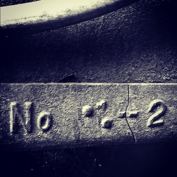 No. 2. #vintage #toronto #blackandwhite  (Taken with Instagram)