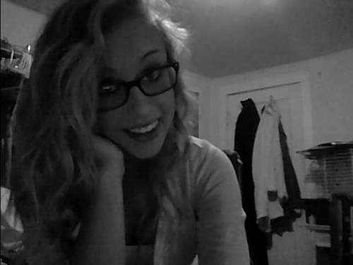 I wear my glasses sometimes.. I like them.
