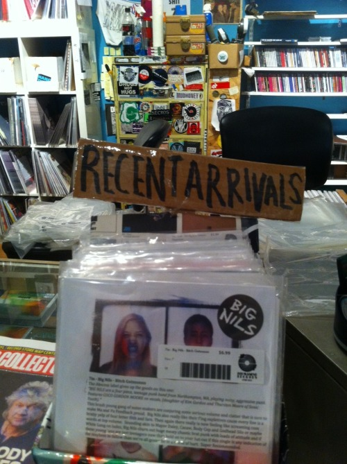 bignils:  At a record store in chicago called Permanent Records oh hay