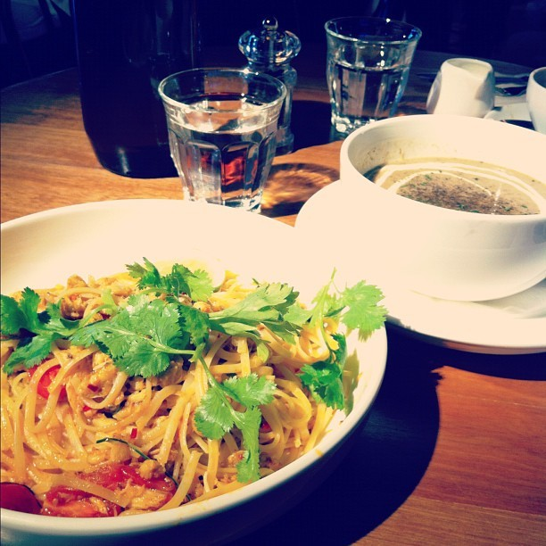 Monday treat #food #foods #pasta (Taken with Instagram at Plan b)