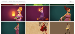 Hey, guys, finally updated the wallpaper set to include Megara!  Only seven months after I drew her.  It…  It has been a busy year, good god damn.