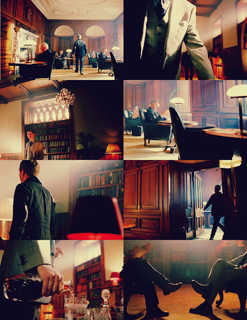 5/10 Favourite Locations in BBC's Sherlock: The Diogenes Club