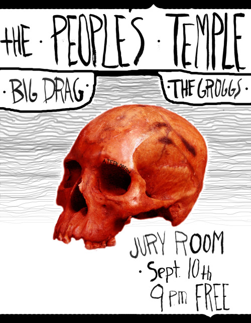 teendreambooking:  FREE SHOW AT THE JURY ROOM SEPTEMBER 10TH. cum partee