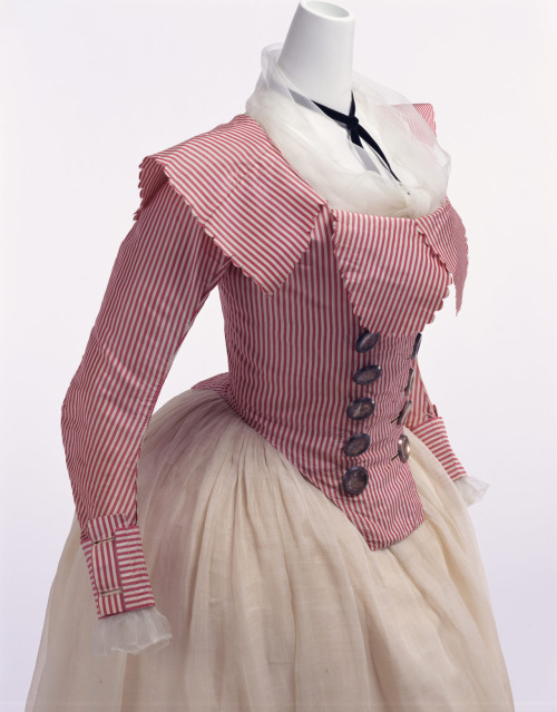 omgthatdress:  Jacket 1790s The Kyoto Costume Institute
