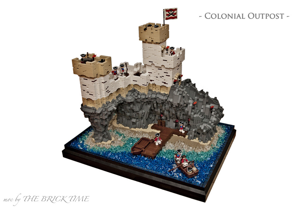 Colonial Outpost #002 (by THE BRICK TIME Team)
