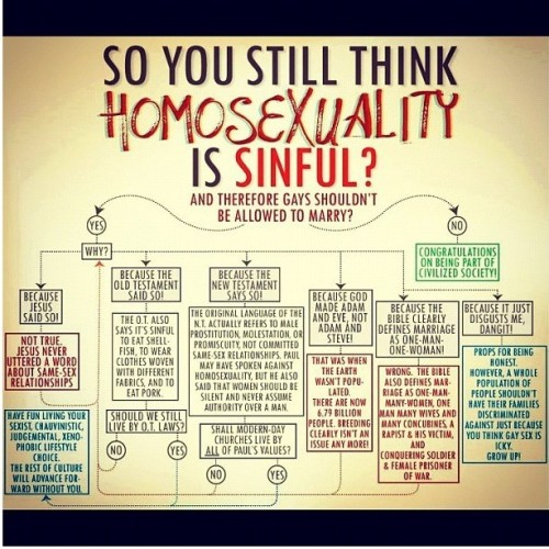 So you think Homosexuality is Sinful? Really? Take a look at this!