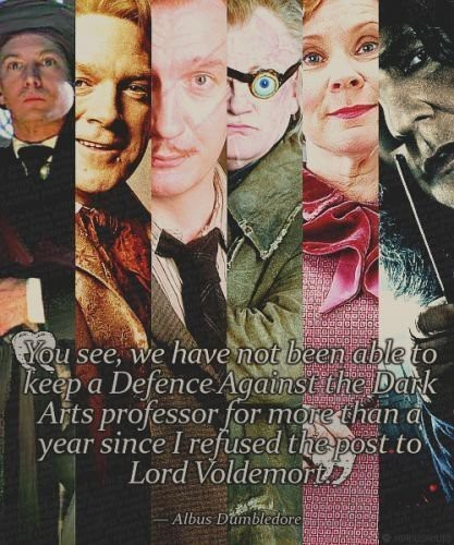 dumbledoresorder:  All the Defense professors  hmmm