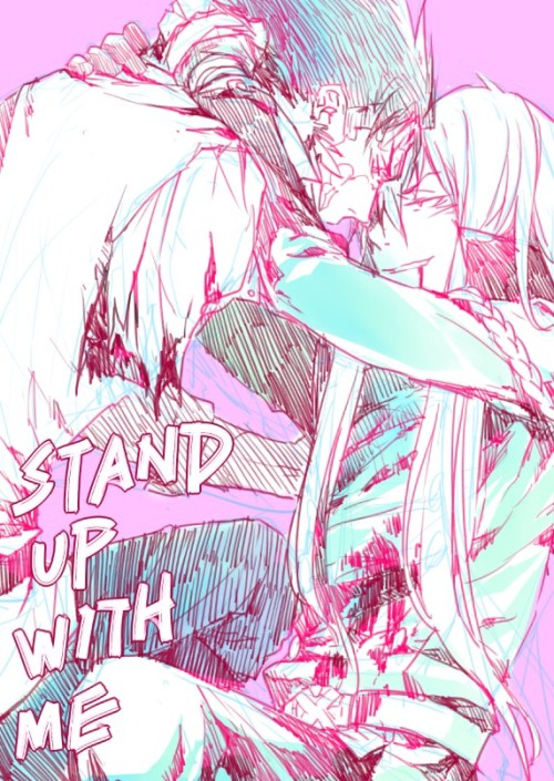 Yes stand up with me  parcivale