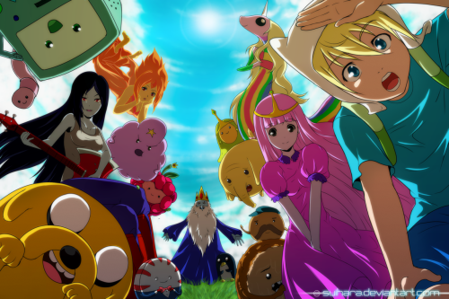 If Adventure Time were an anime.