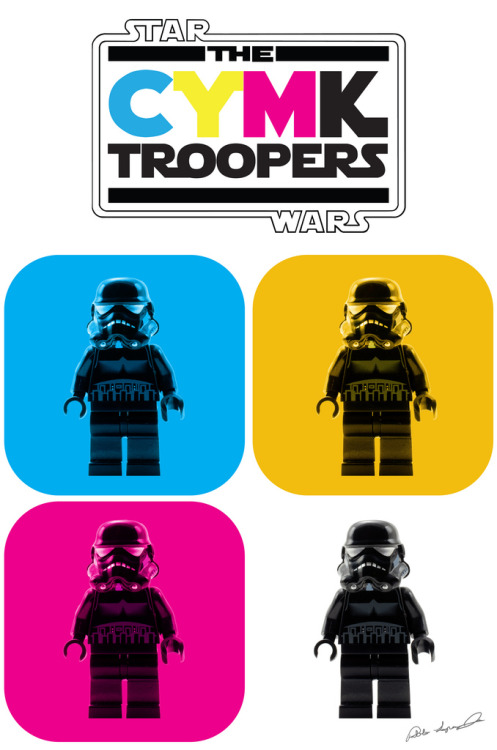 *CYMK Troopers Created by Pablo Lopez