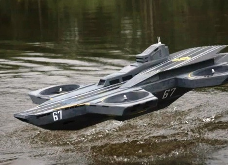 Hobbyist builds working S.H.E.I.L.D. helicarrier OR Whedon forced to downscale special effects for Avengers #2 ;)  (via Hobbyist builds working S.H.I.E.L.D. helicarrier | Crave - CNET)