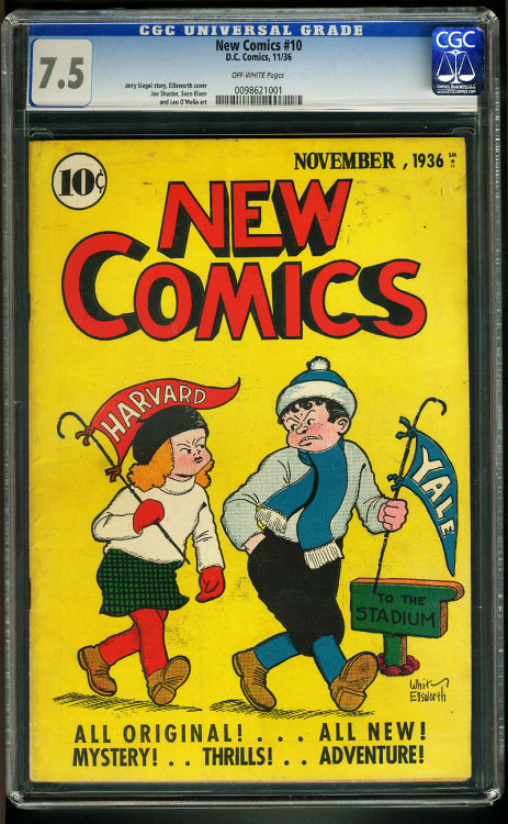 Vintage Comic - New Comics #010 (CGC)