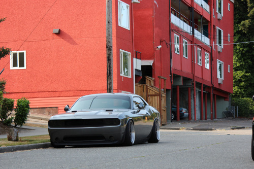 (via Dodge Challenger with proper wheels fitment)