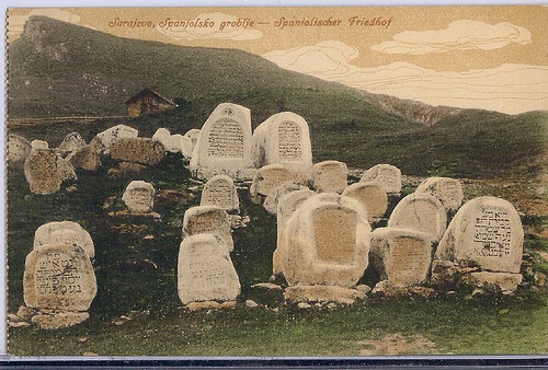 dustandgasoline:  The Sephardi cemetery in Sarajevo
