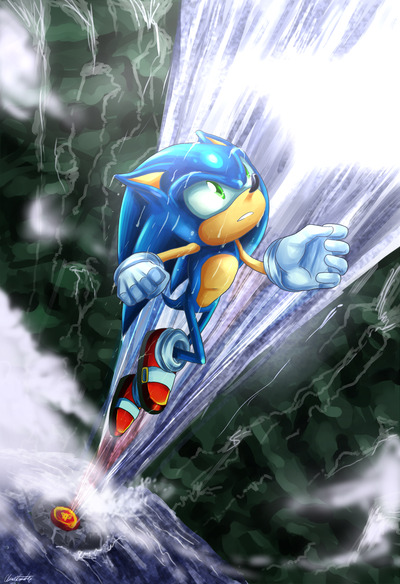 "thatsonicblog:  ""Lost in His World"" ~ Chicaaaaa"